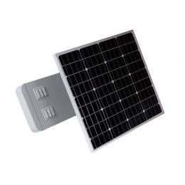 Zestaw solarny 20W - lampa LED, panel i bateria [LS20]