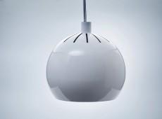 Lampa podwieszana LED żyrandol biała mat 25W [LAM25]