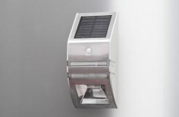 Lampa solarne LED fasadowa Greenie