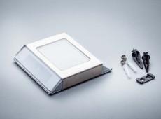 Solarna lampa naziemna LED SilverEarth ogniwo 0.4W akumulator 600mAh [S0005]