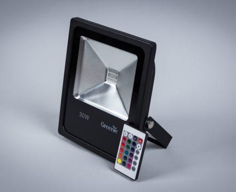 Naświetlacz LED Economy 30W IP65 RGB [NLE30RGB-S]