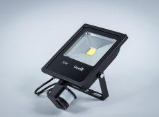 Naświetlacz LED Professional 30W z czujnikiem ruchu i zmierzchu IP65 [NLPIR30-S]
