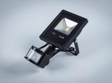 Naświetlacz LED Professional 10W z czujnikiem ruchu i zmierzchu IP65 [NLPIR10-S]