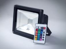 Naświetlacz LED Professional 20W IP65 RGB [NLP20RGB-S]