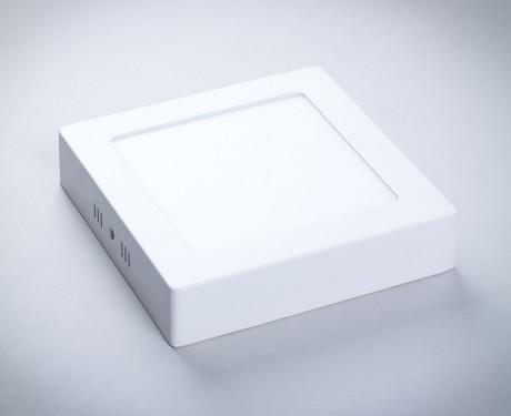 Plafon LED SOLID kwadratowy metalowy 170x170 12W [PMK12]