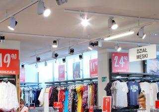 Oświetlenie sklepu. Wybór najlepszych produktów
