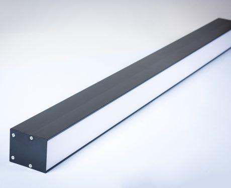 Oprawa Liniowa LED Linea podwieszana 1200mm 40W czarna obudowa [LP1240B]